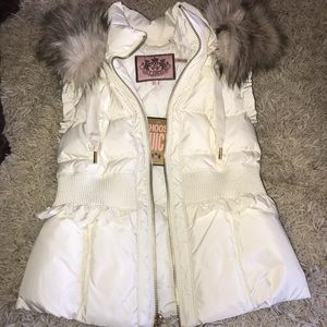 Juicy Couture Angel puff vest